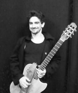 professeur de guitare